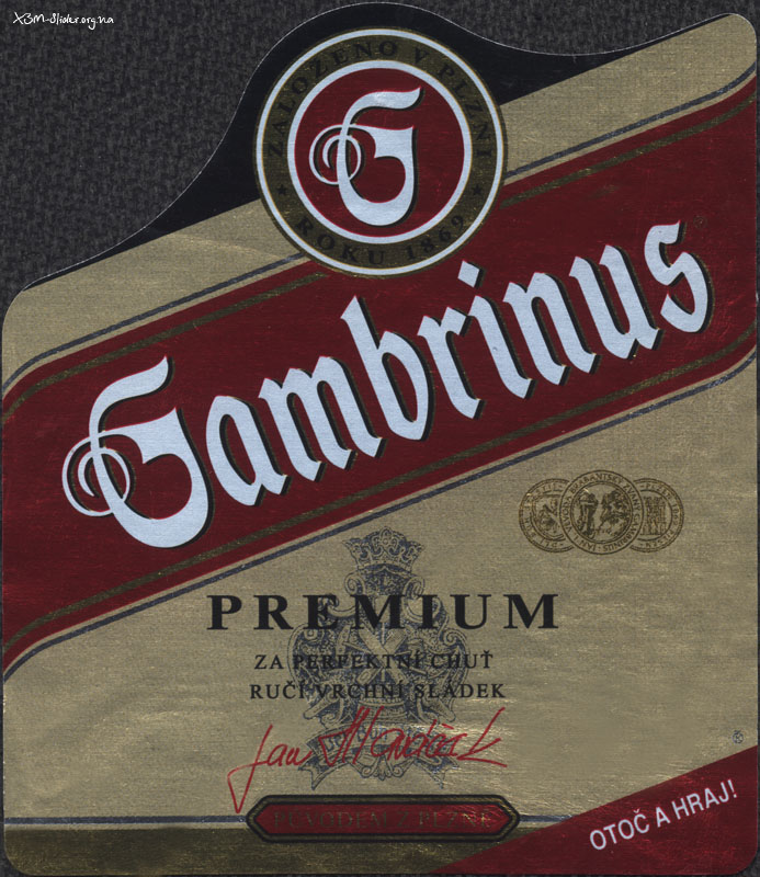 Gambrinus - Premium (Import Чехия)