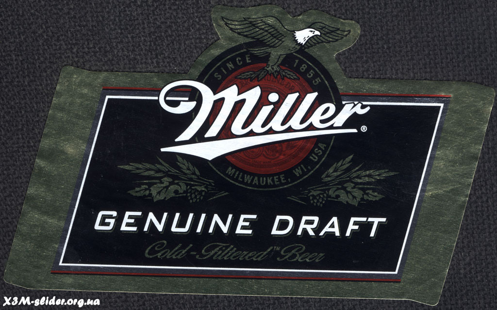 Miller - Genuine Draft