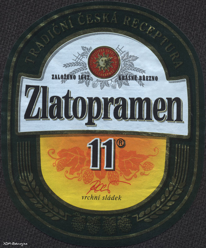 Zlatopramen - 11 (Import Чехия)