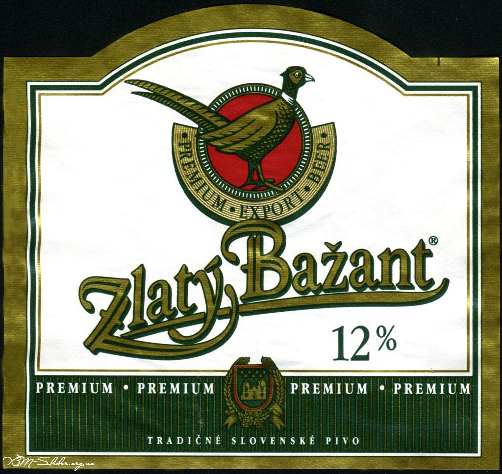 Zlaty Bazant Premium (Старая єтикетка)