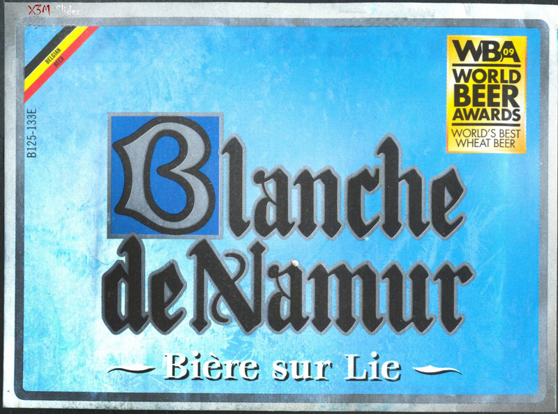 Blanche de Namur - Biere sur Lie