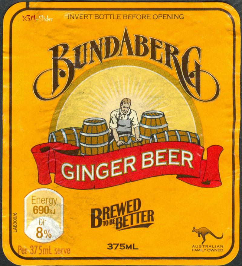 Bundaberg - Ginger Beer - Brewed to be Better