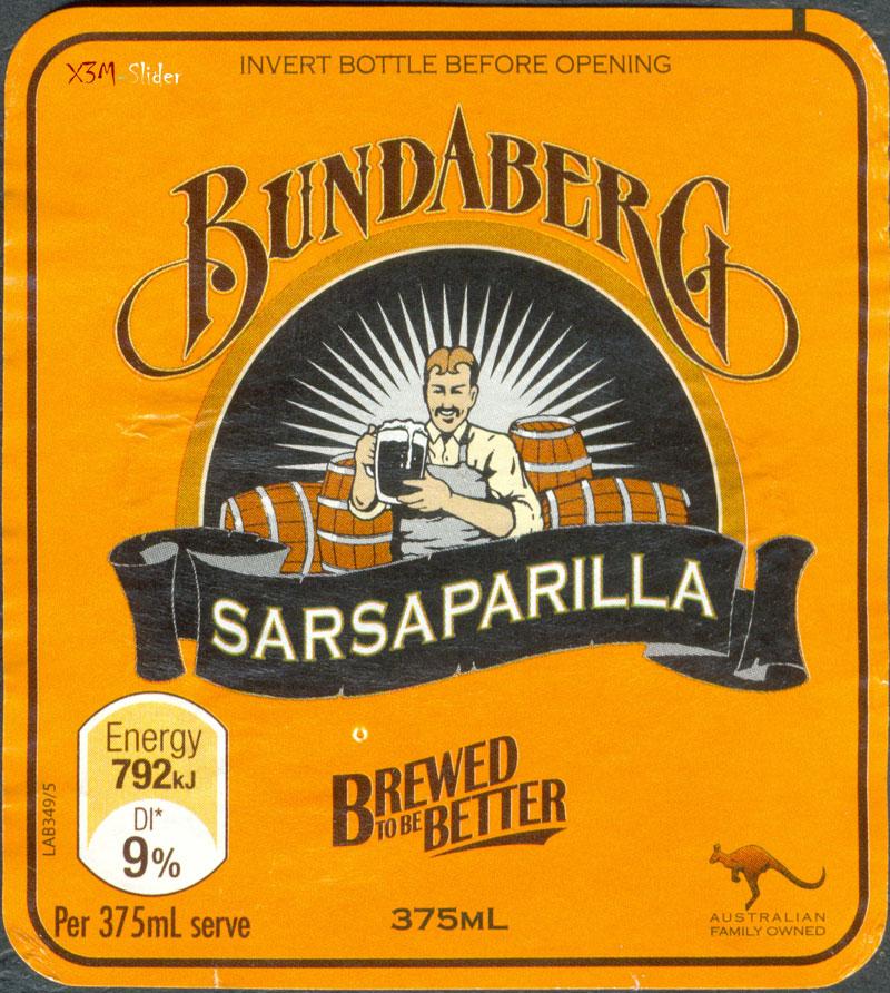 Bundaberg - Sarsaparilla - Brewed to be Better