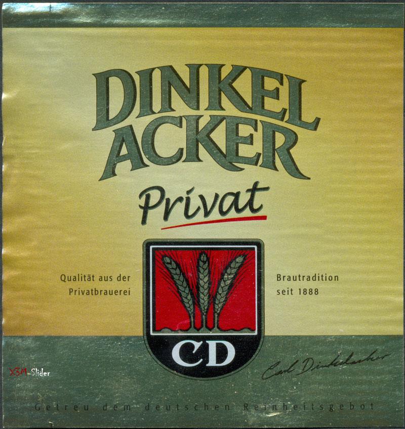 Dinkel Acker Privat