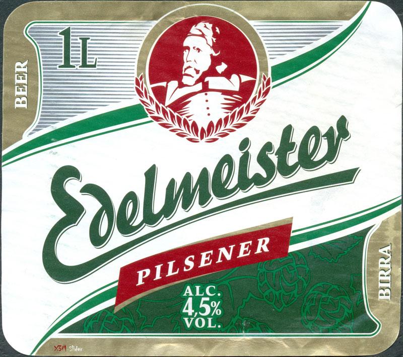 Edelmeister Pilsener Beer