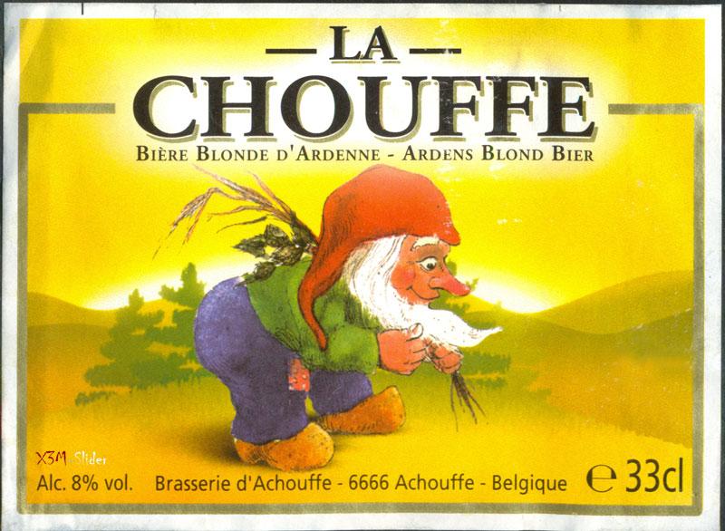 La Chouffe - Biere Blonde d'Ardenne - Ardens Blond Bier