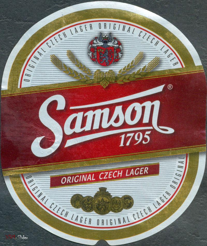 Samson - Original Czech Lager