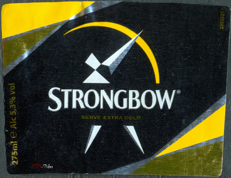 Strongbow - Serve Extra Cold