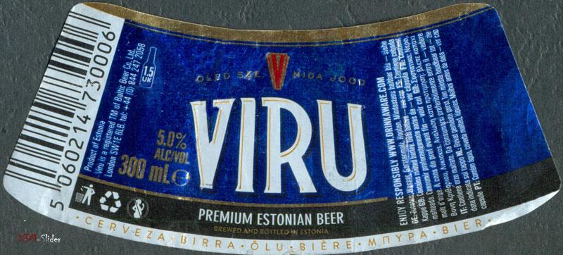 Viru - Premium Estonian Beer