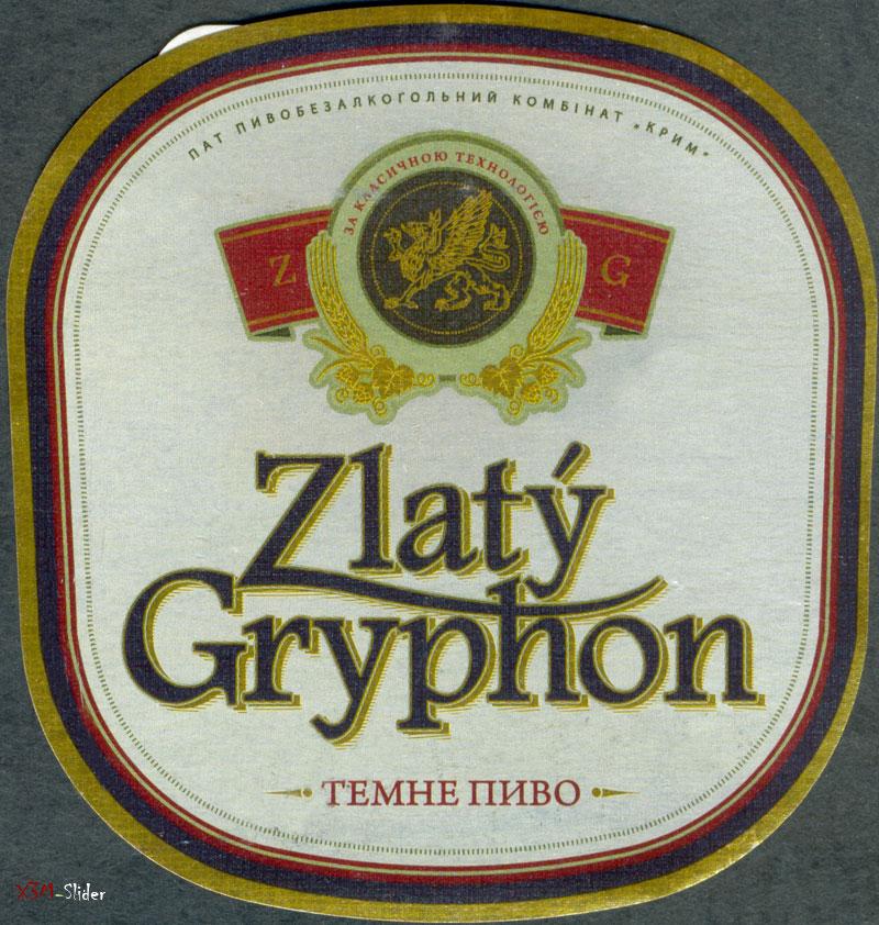 Zlaty Gryphon - Темне пиво - ПАТ Пивобезалкогольний комбінат Крим
