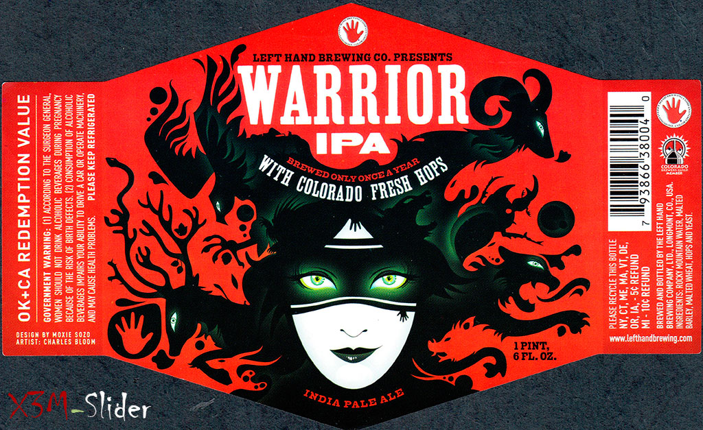 Left Hand - Warrior IPA