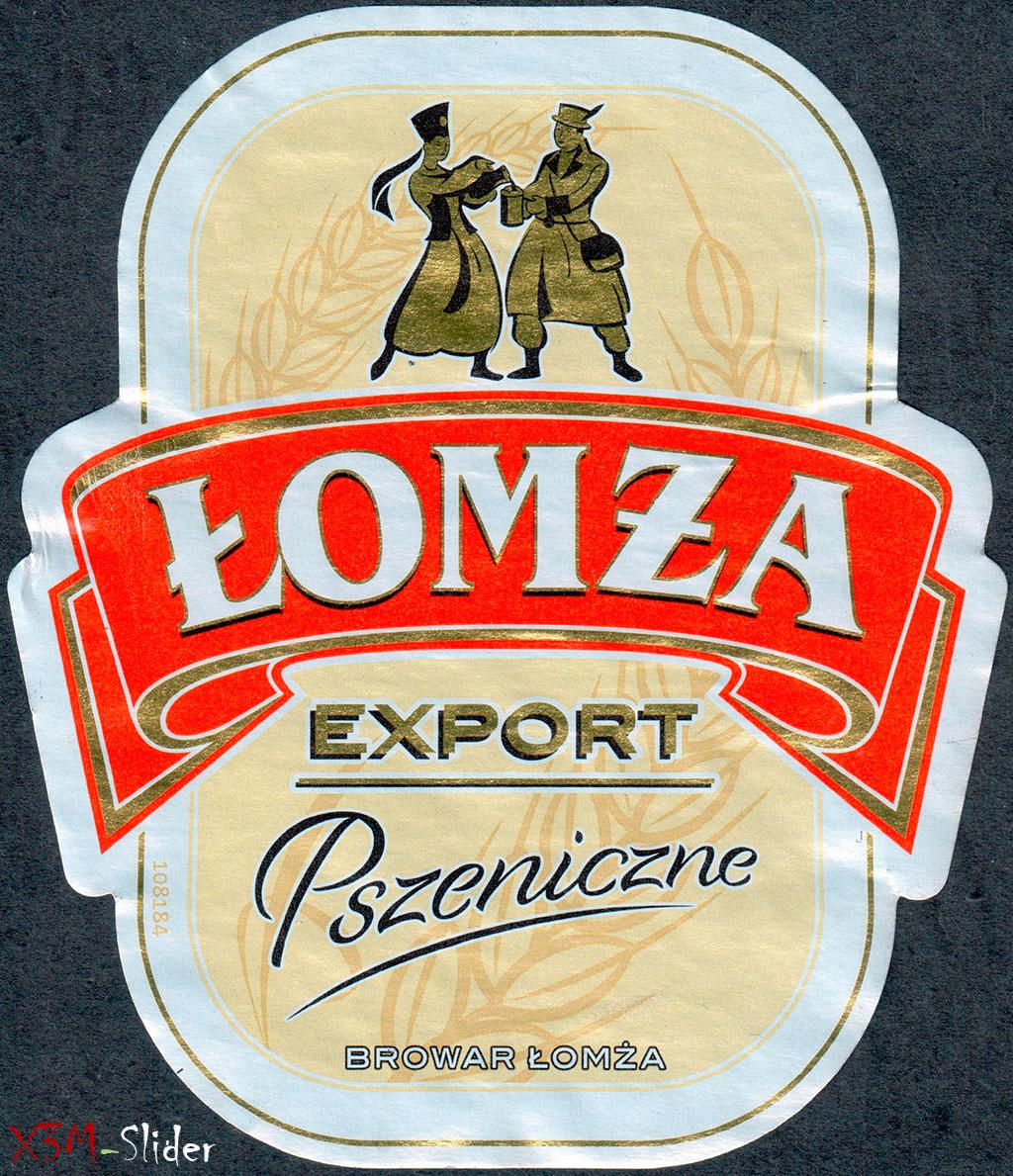 Lomza Export Pszeniczne - Browar Lomza