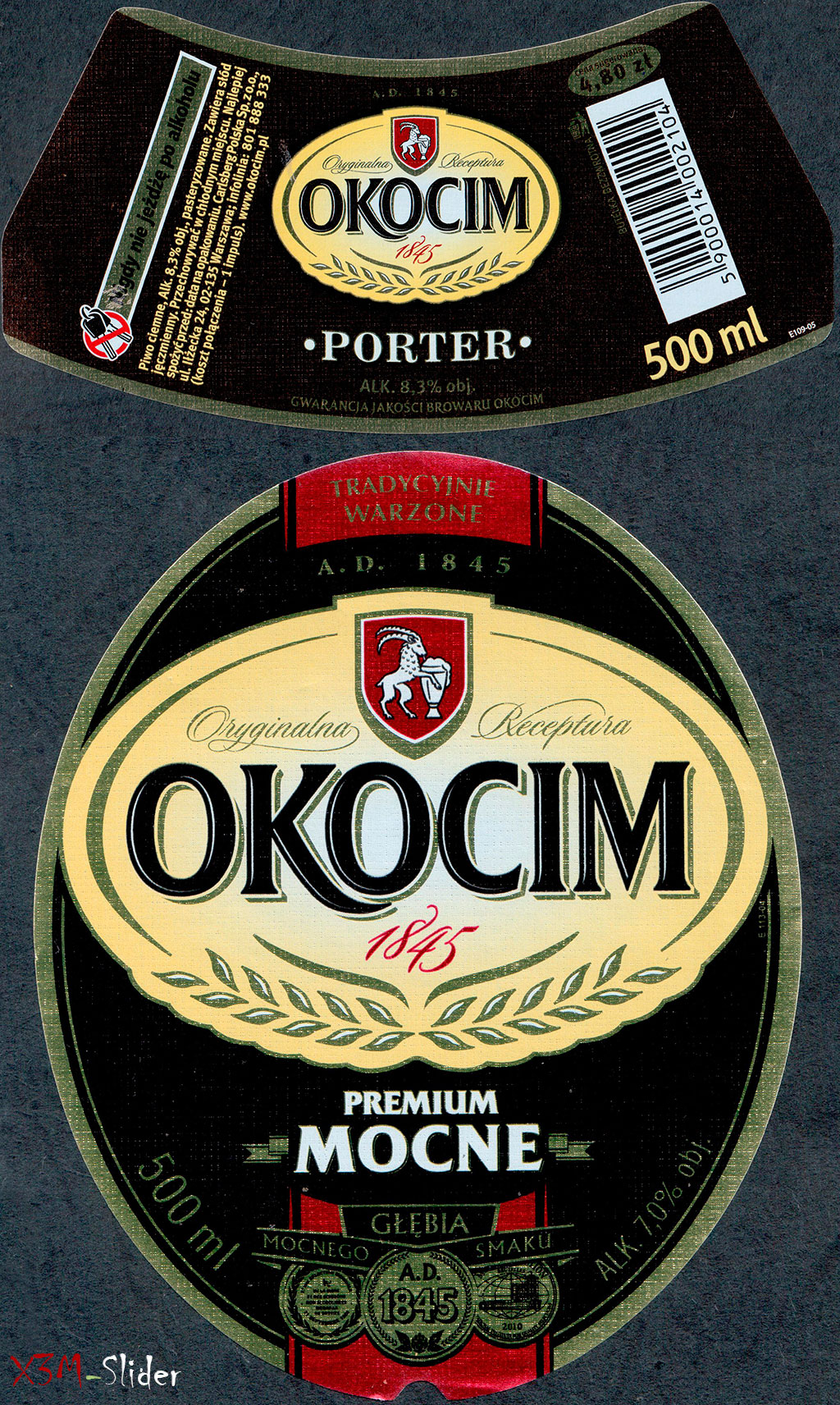 Okocim - Mocne Premium