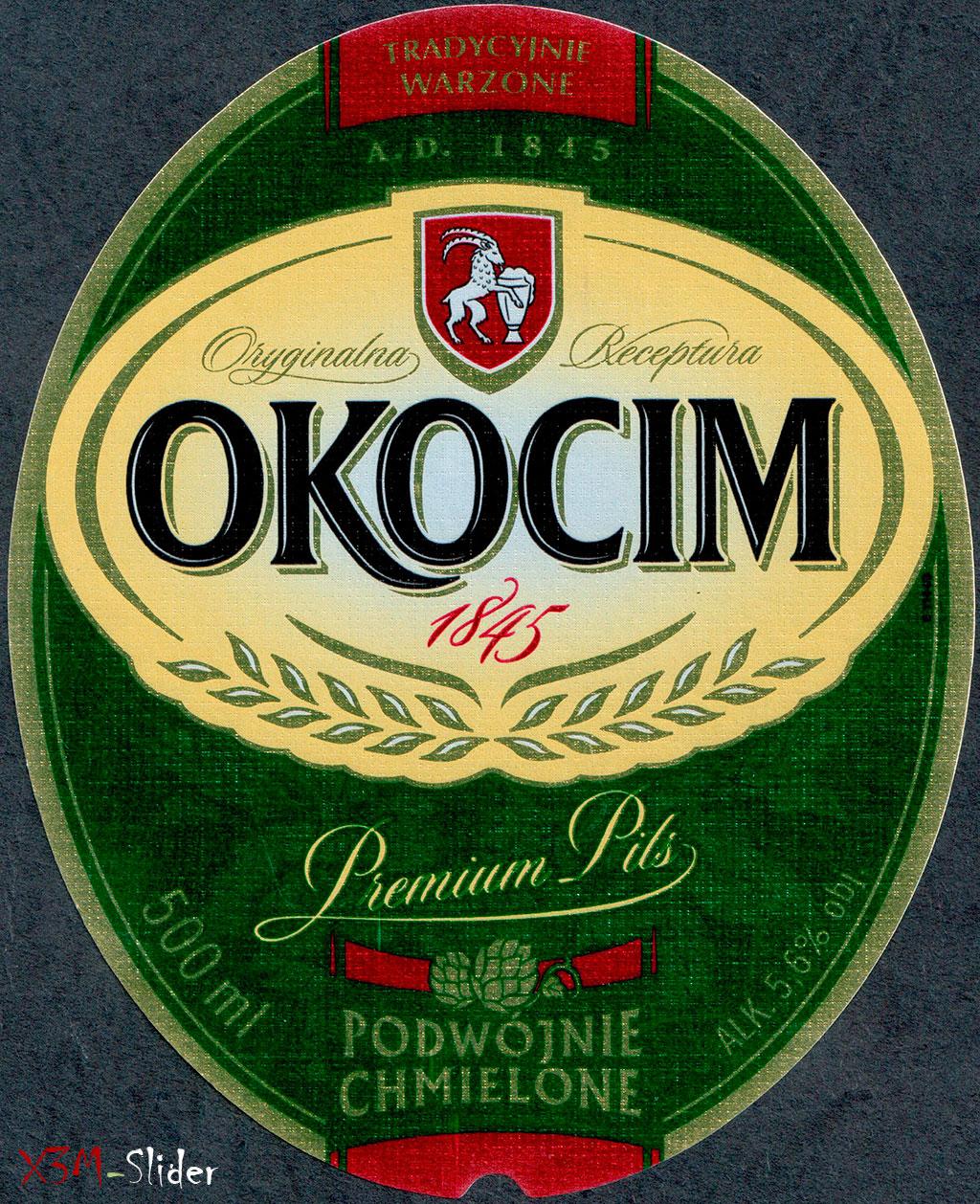 Okocim - Premium Pils