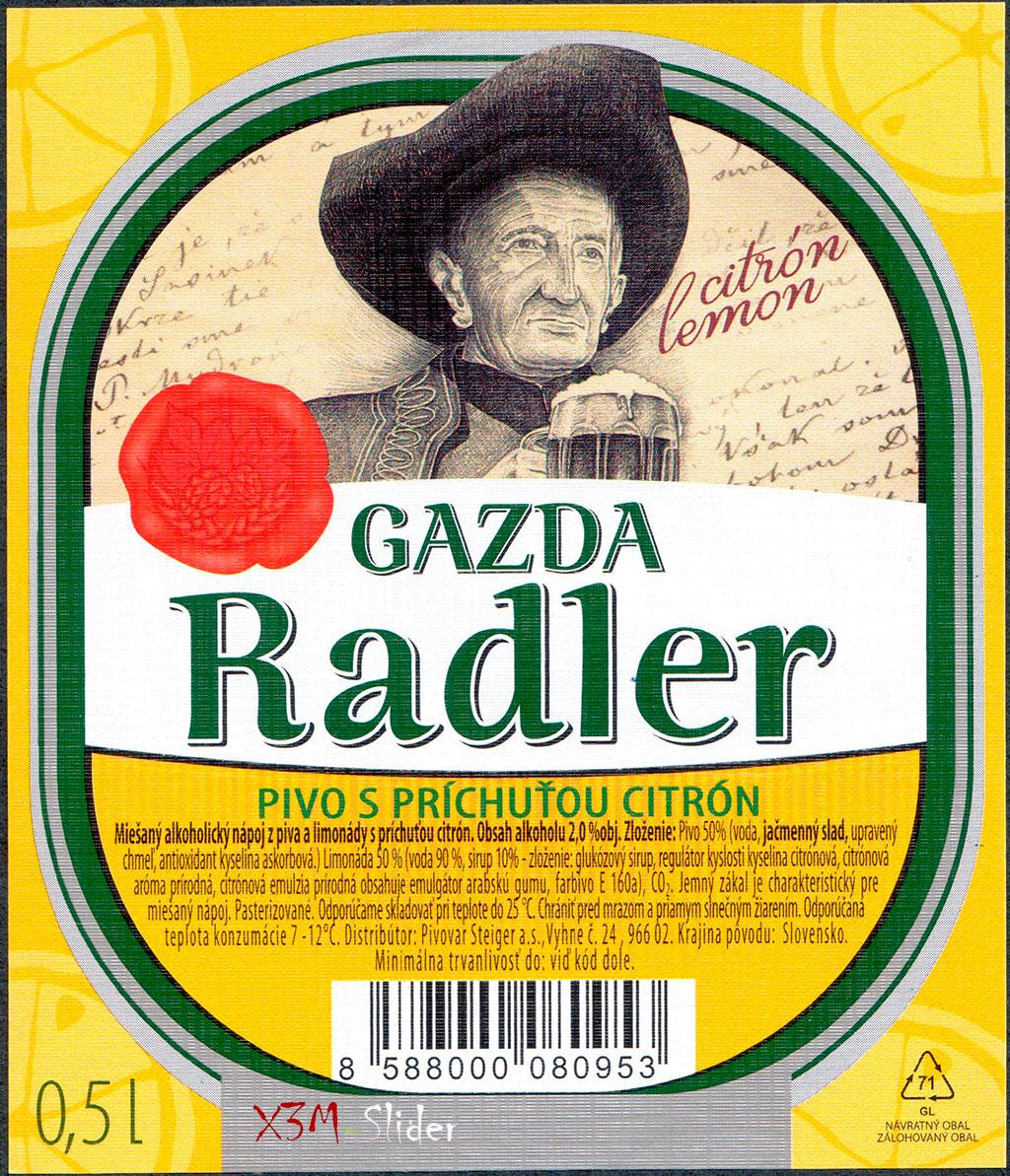 Steiger - Gazda Radler