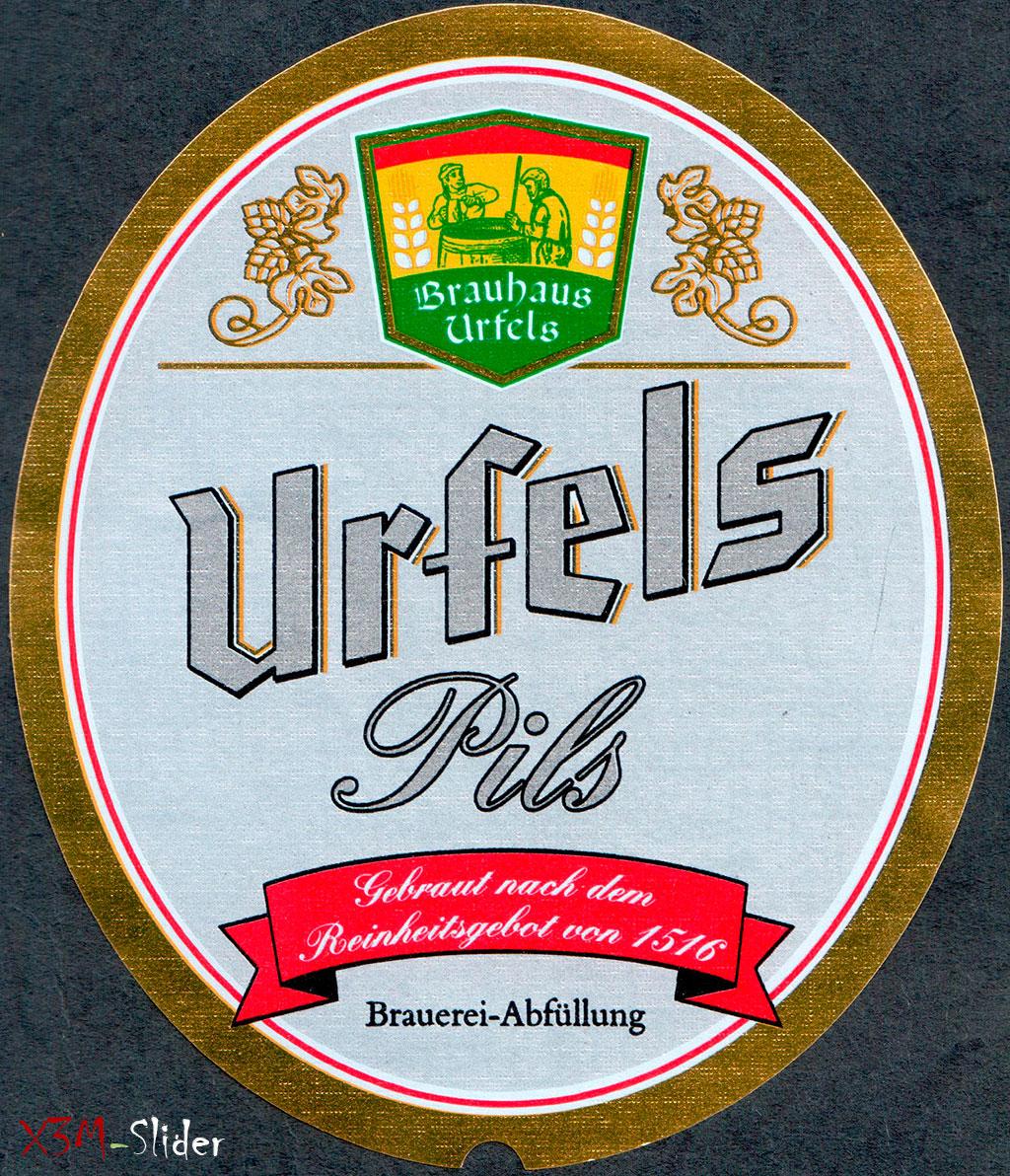 Urfels Pils - Brauhaus Urfels