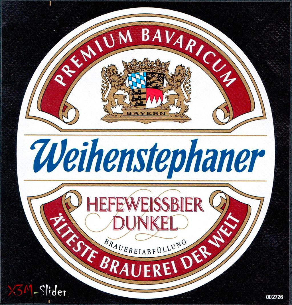 Weihenstephaner - Hefeweissbier Dunkel