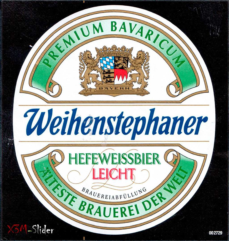 Weihenstephaner - Hefeweissbier Leicht