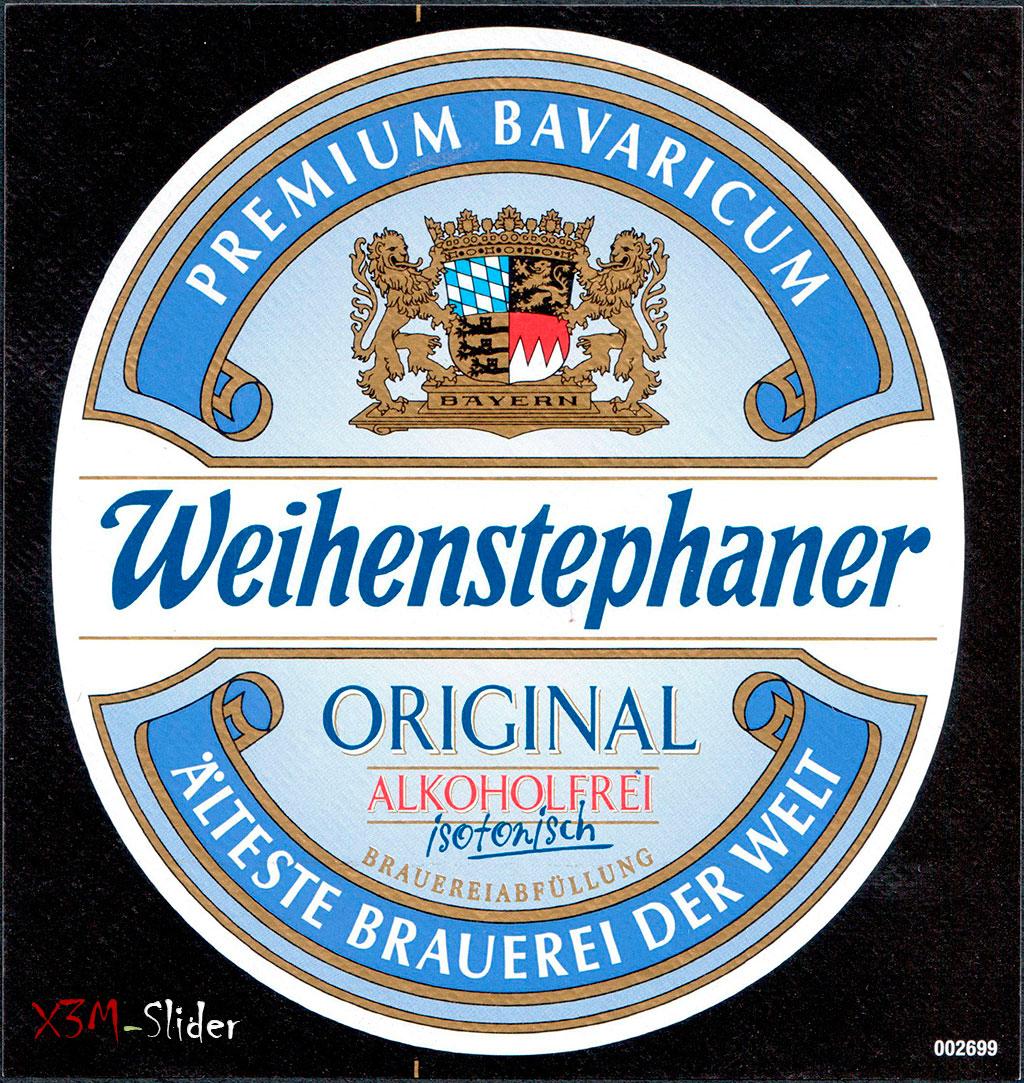Weihenstephaner - Original Alkoholfrei
