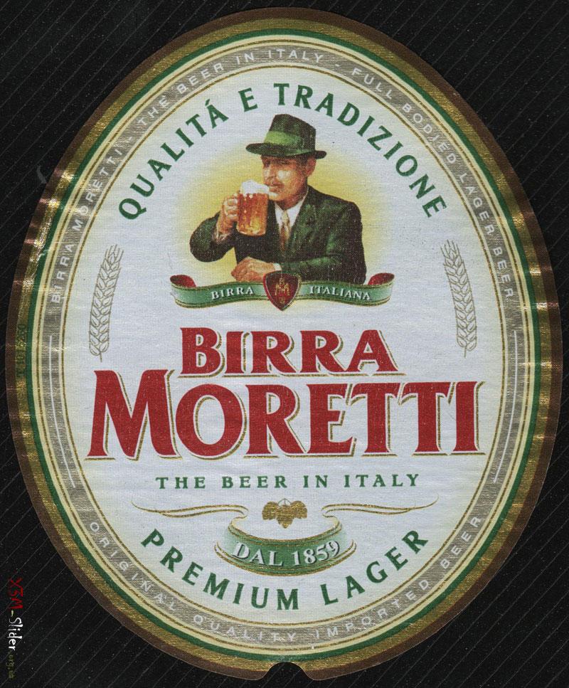 Birra Moretti - Premium Lager