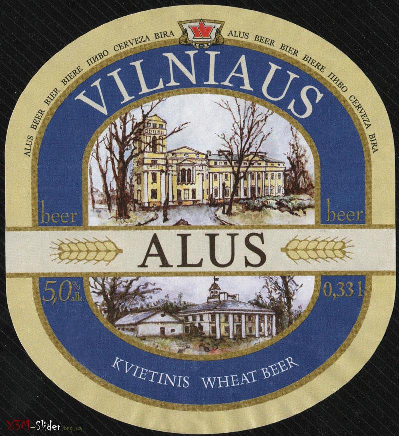 Vilniaus Alus - Kvietinis (Wheat Beer)