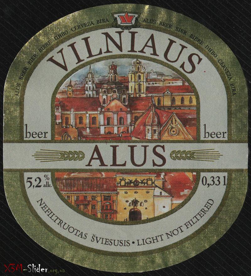 Vilniaus Alus - Nefiltruotas Sviesusis (Light Not Filtered)