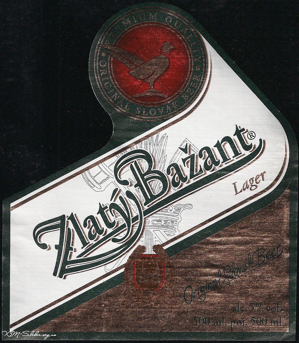 Zlaty Bazant - Lager