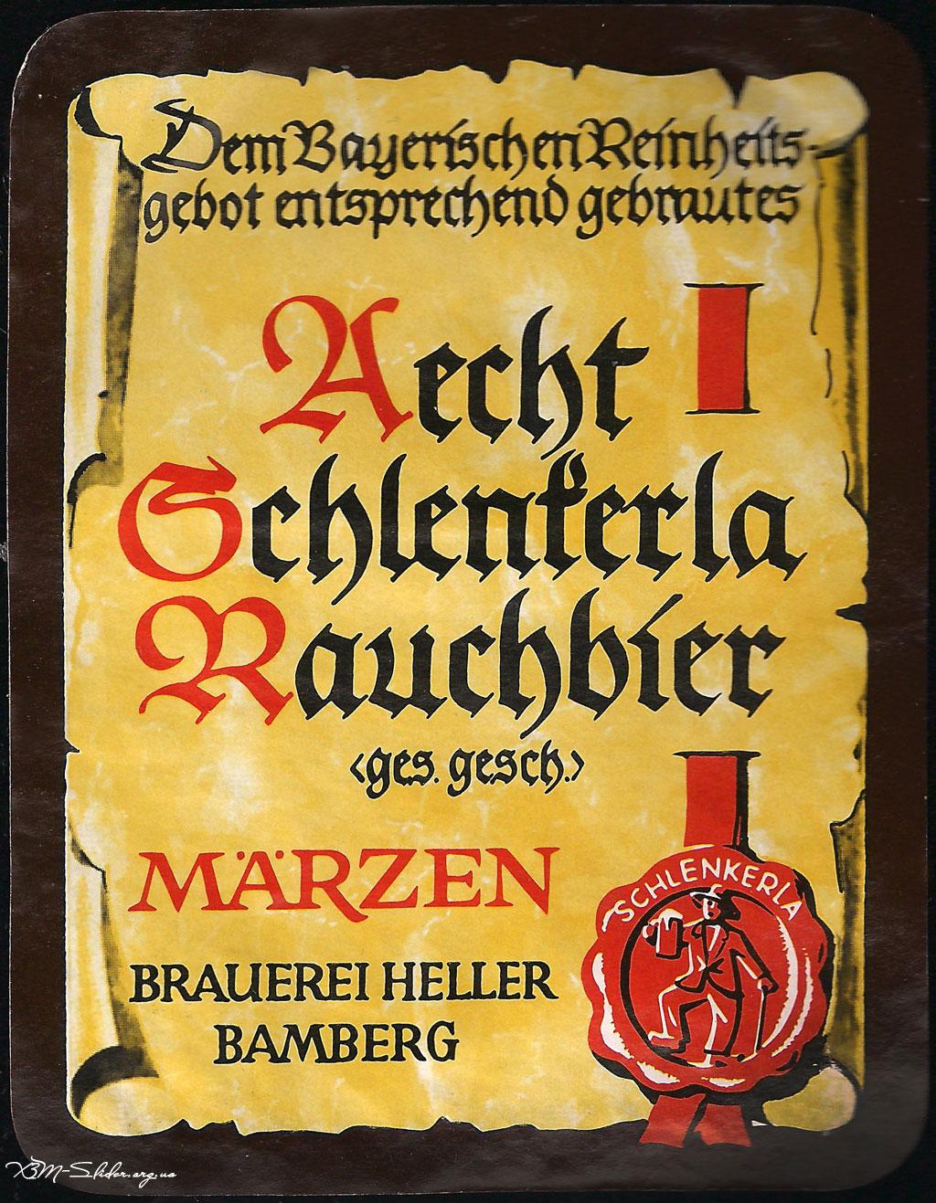 Aecht Schlenkerla Rauchbier - Копчёное пиво пивоварни Эхт Шленкерла
