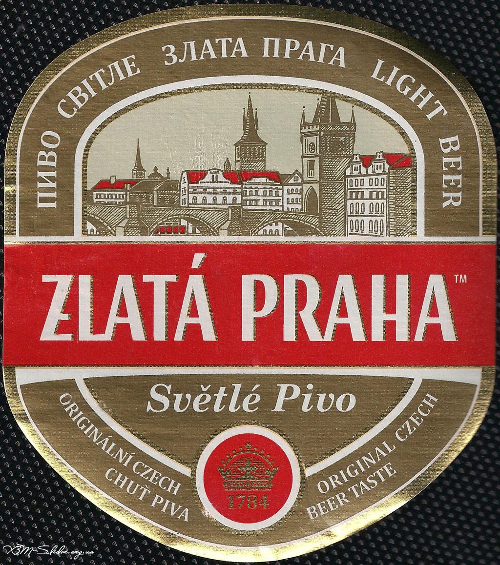 Zlata Praha - Svetle Pivo (Злата Прага - Світле пиво)