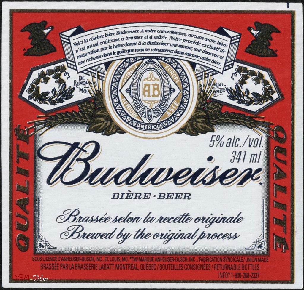 Budweiser Biere-Beer - Qualite