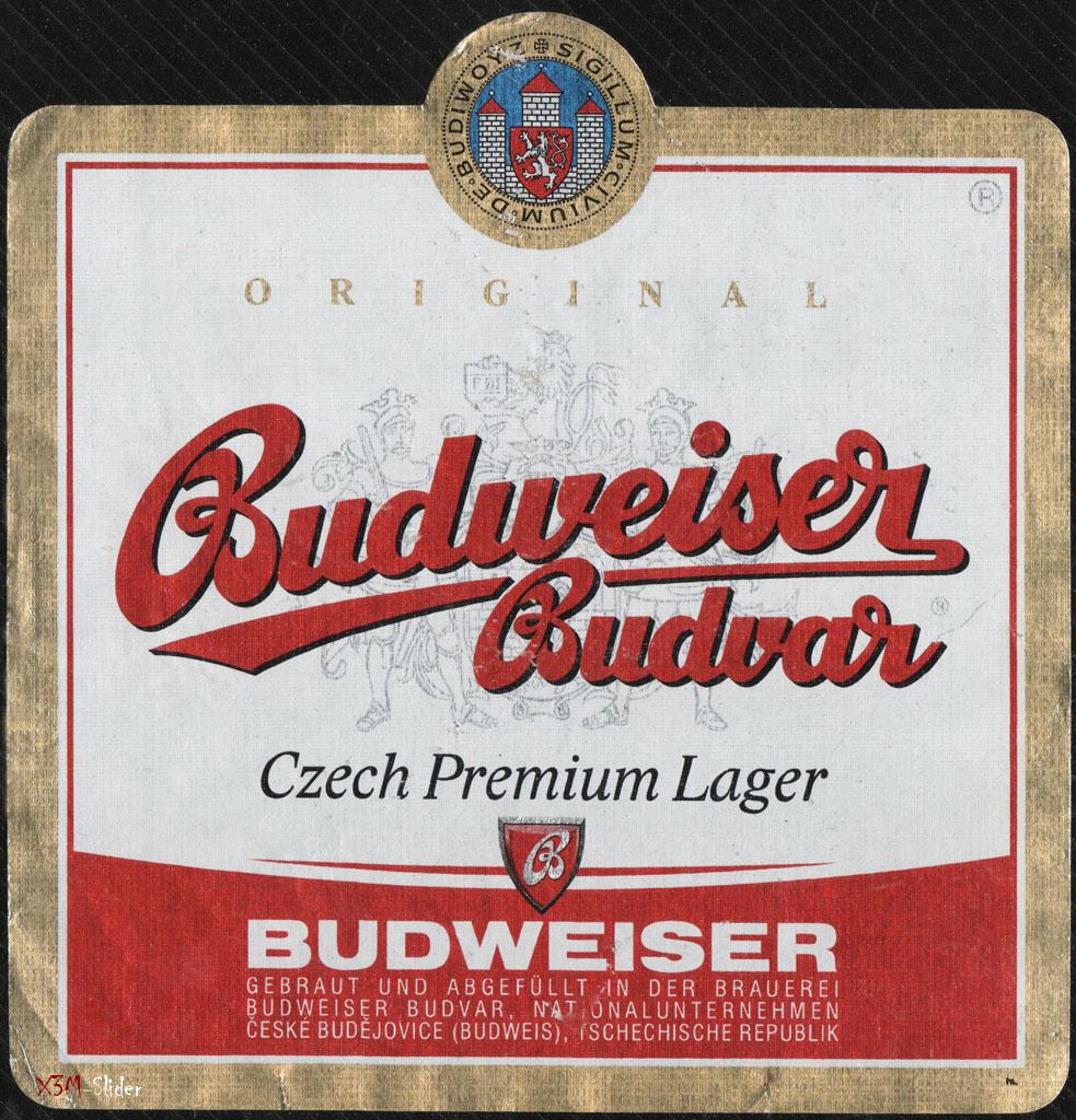 Budweiser Budvar - Czech Premium Lager