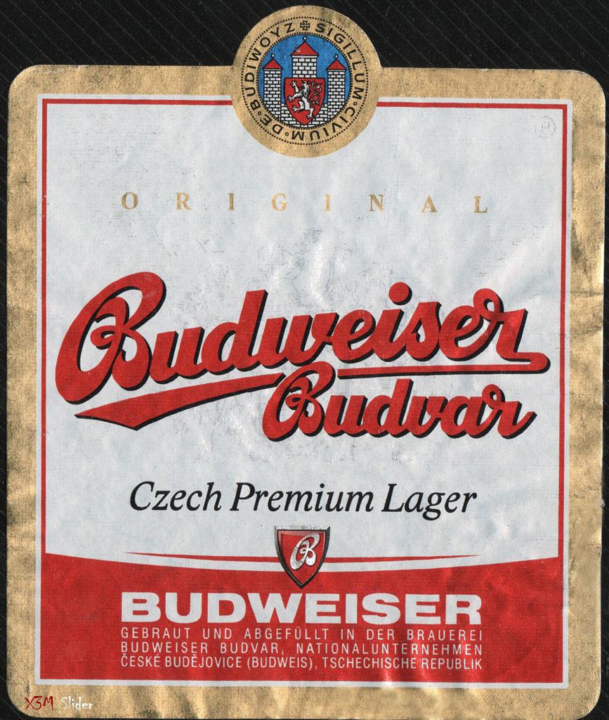 Budweiser Budvar - Original - Czech Premium Lager (Big)