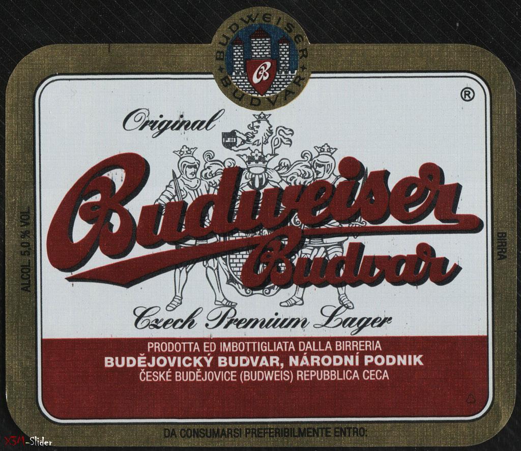 Budweiser Budvar - Original - Czech Premium Lager
