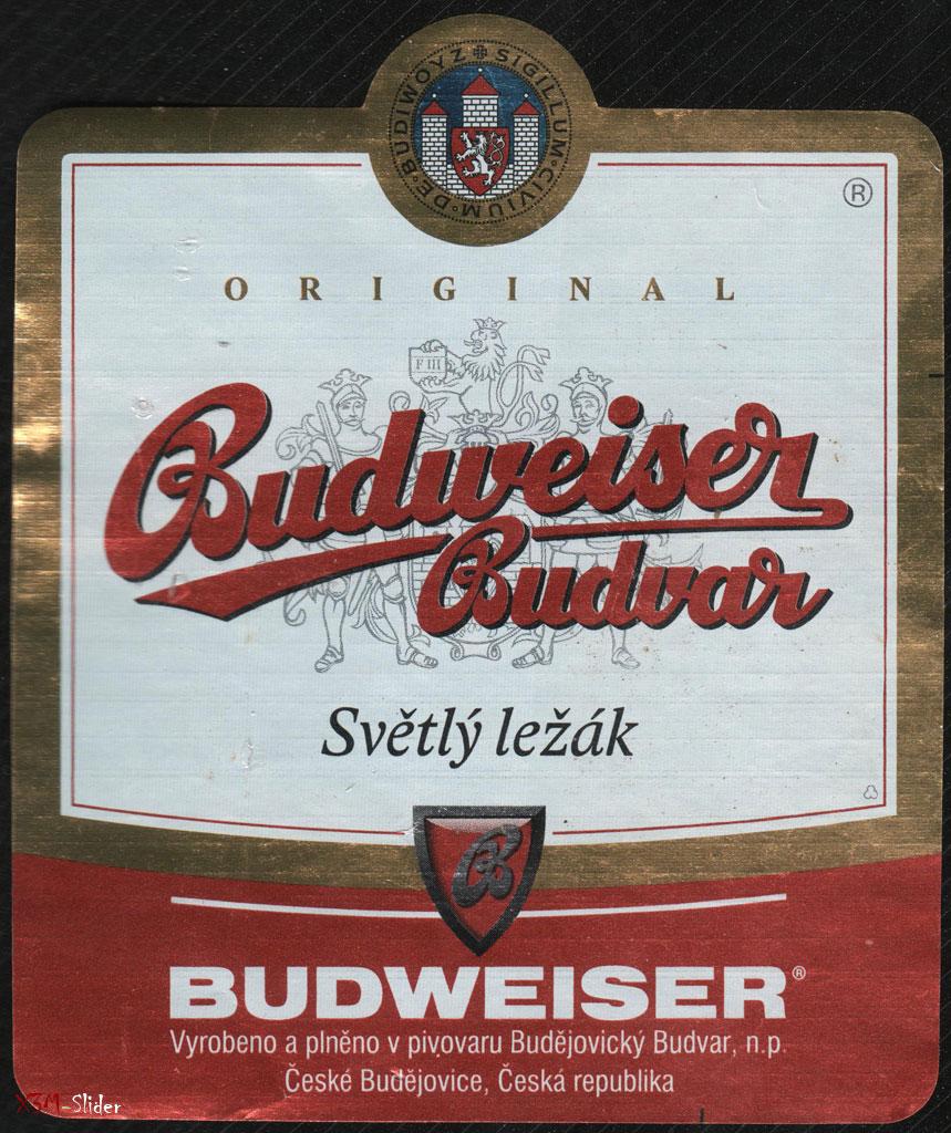 Budweiser Budvar - Svetly lezak - Original