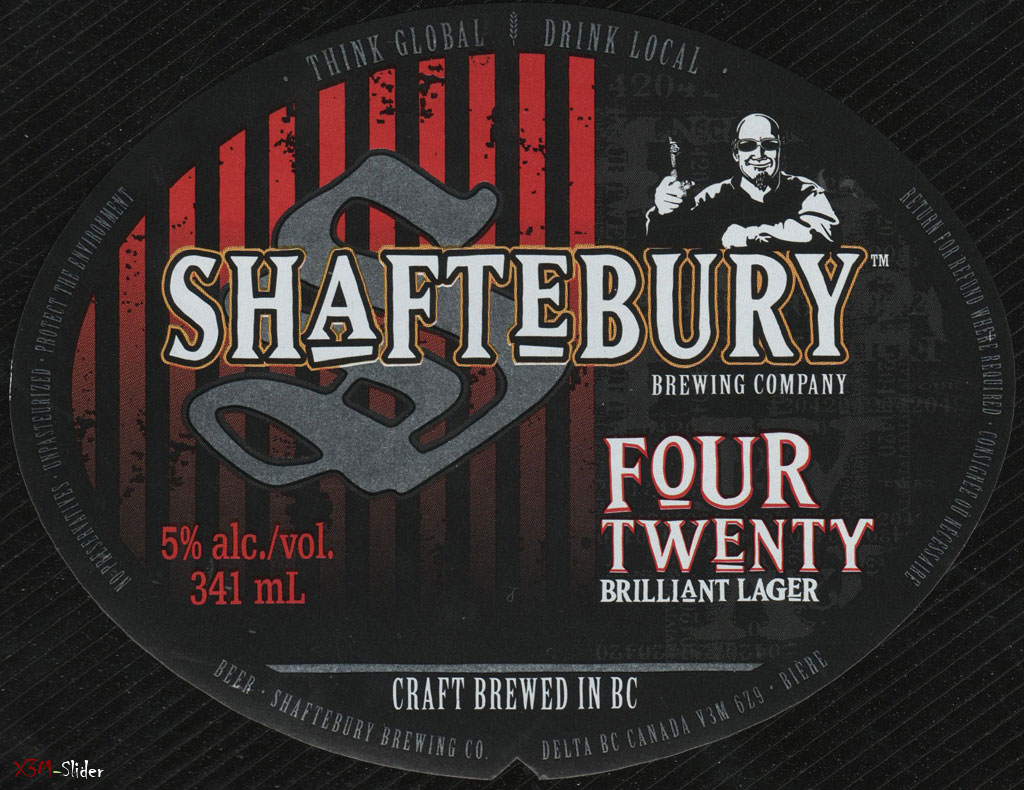 Shaftebury - Four Twenty Brilliant lager