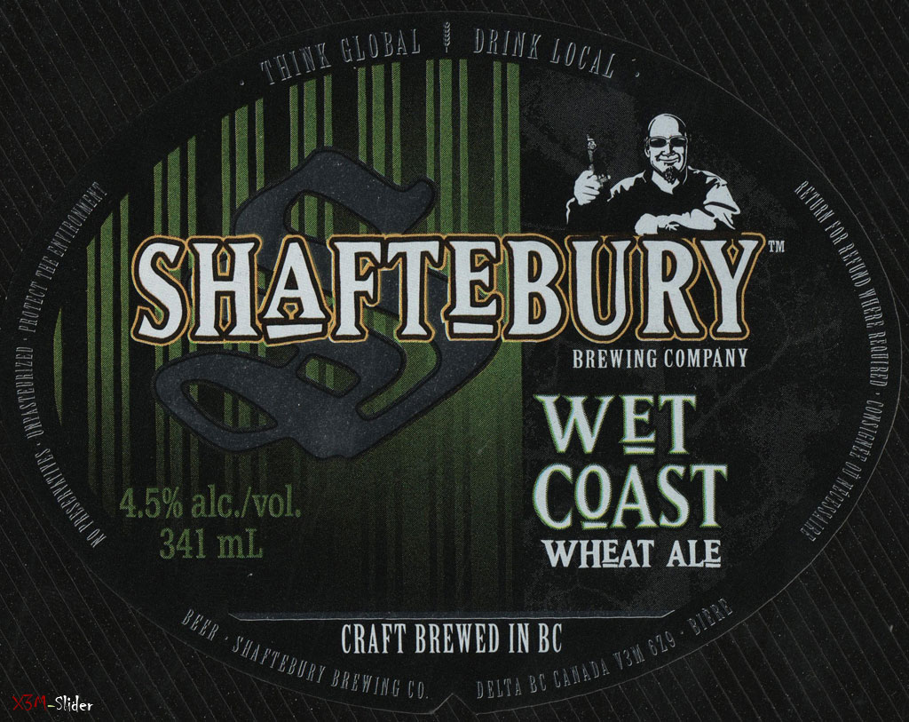 Shaftebury - Wet Coast Wheat Ale