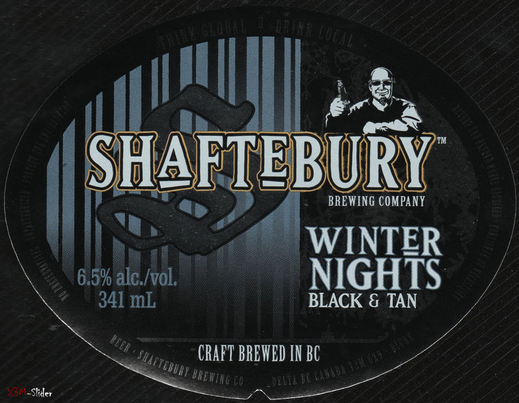 Shaftebury - Winter Nights Black & Tan