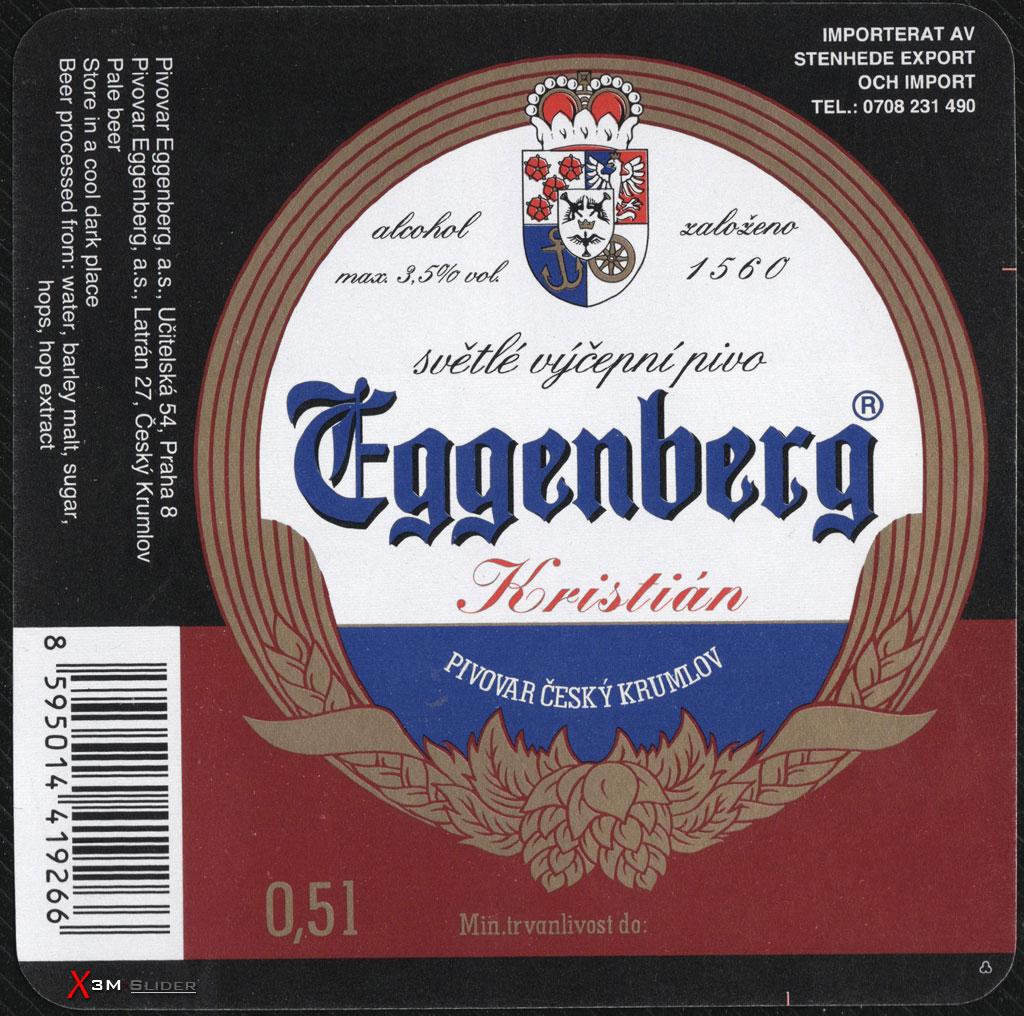 Eggenberg - Kristian - Pivovar Cesky Krumlov