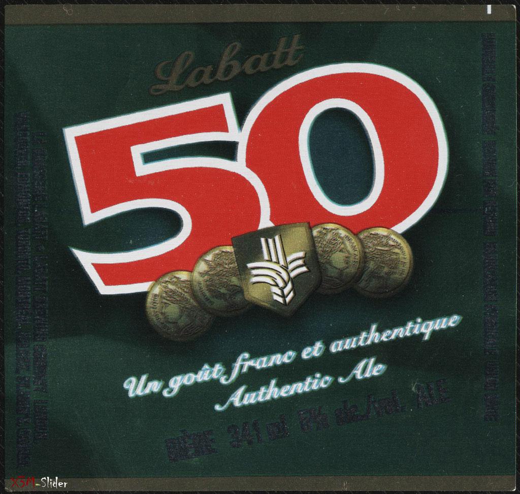 Labatt 50 beer