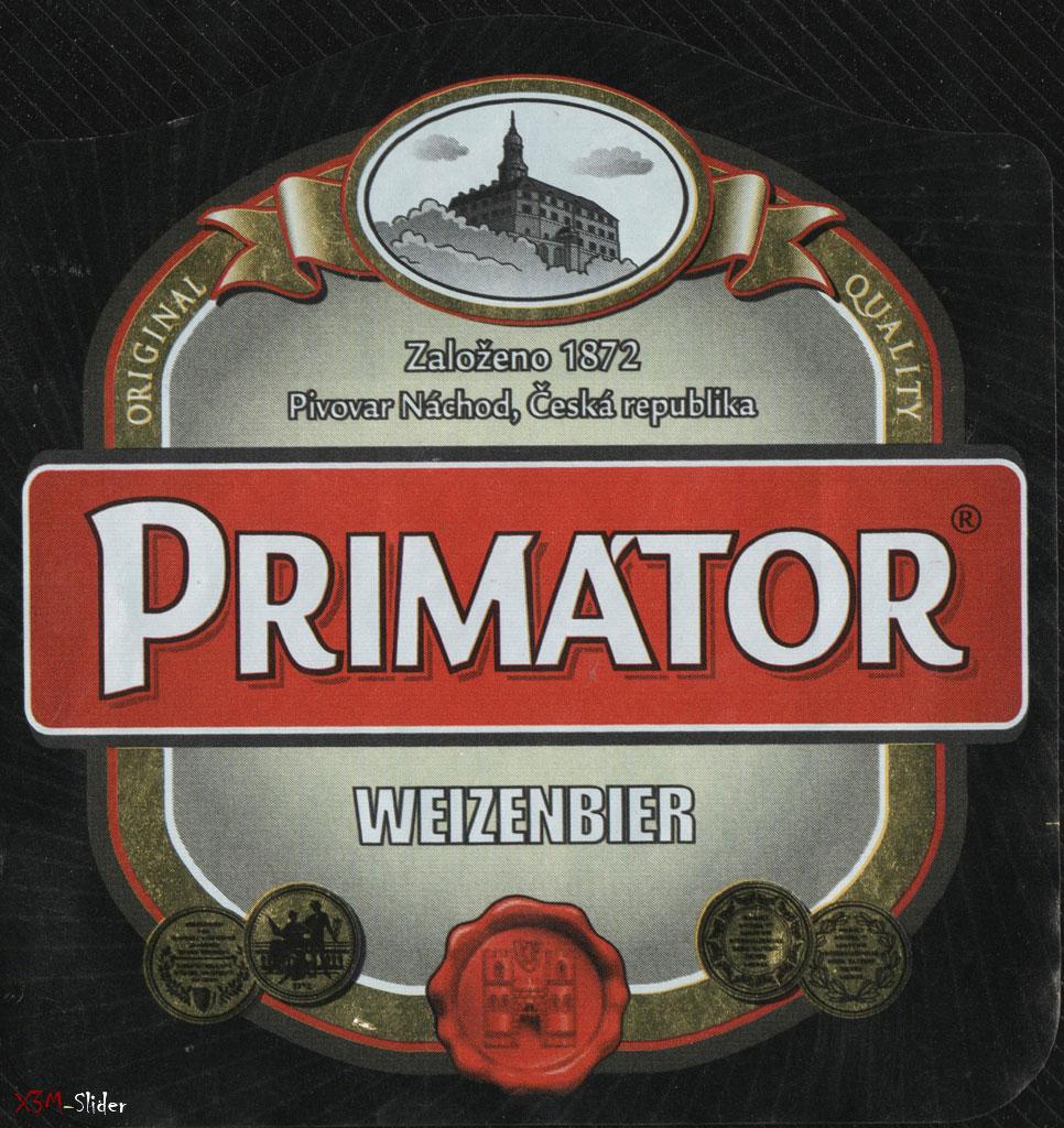 Primator - Weizenbier - Pivovar Nachod
