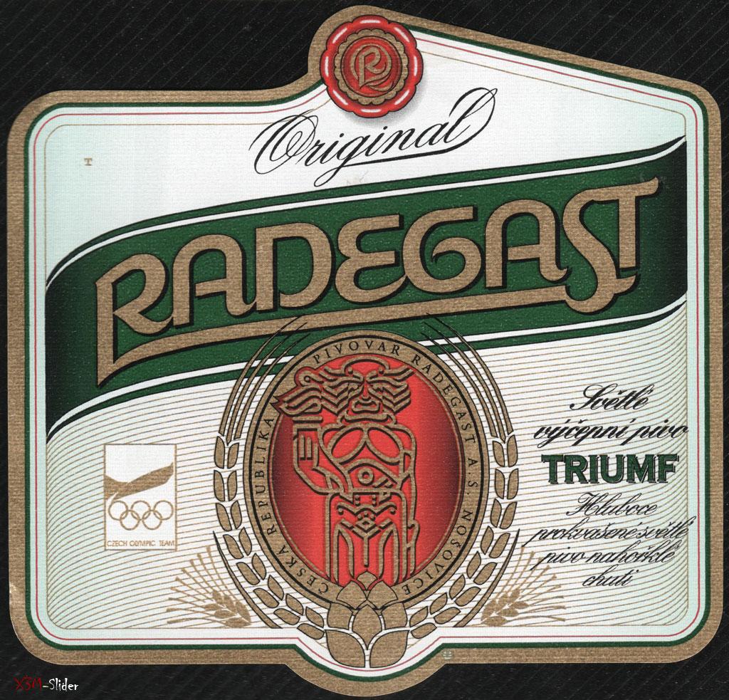 Radegast - Original - Triumf - Svetle