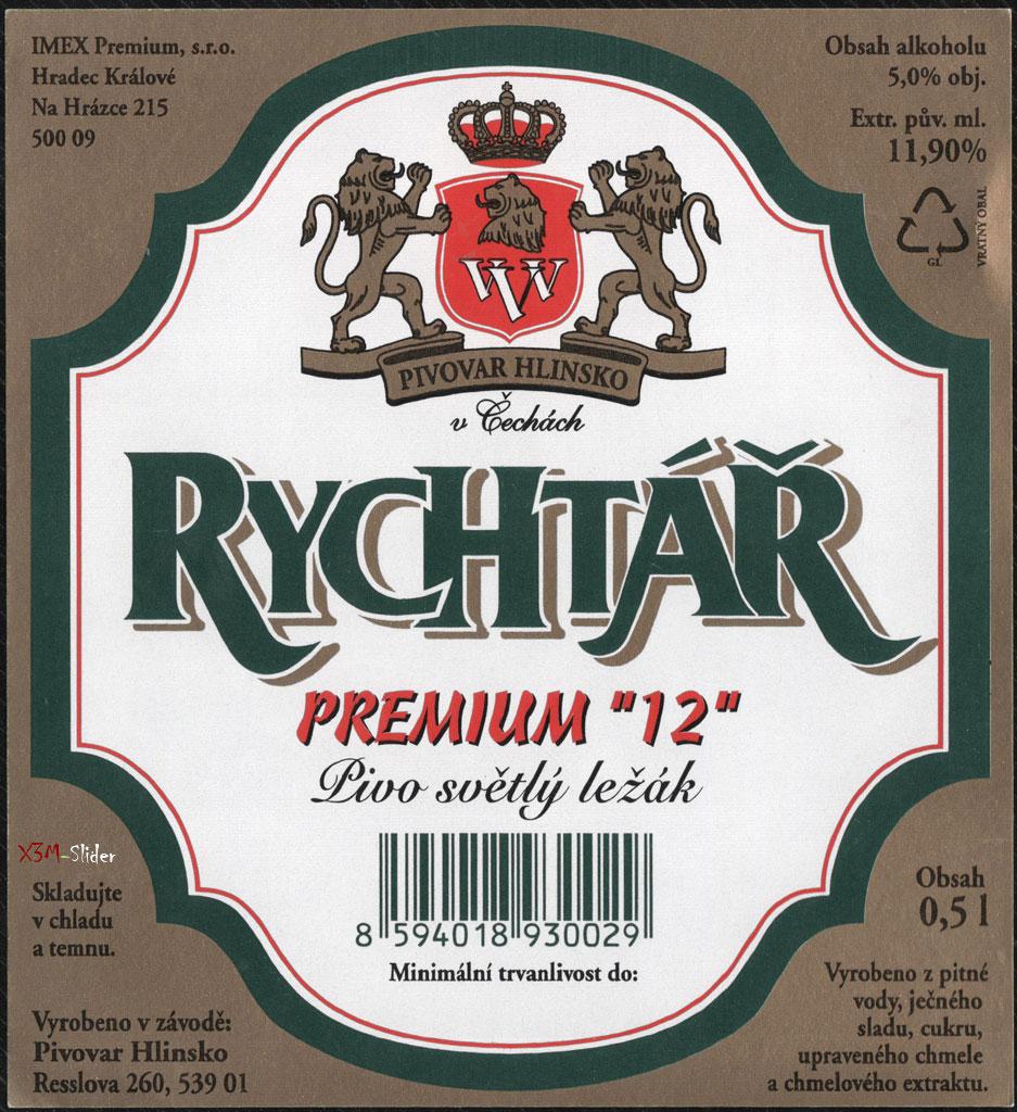 Rychtar - Premium 12 - Svele - Pivovar Hlinsko