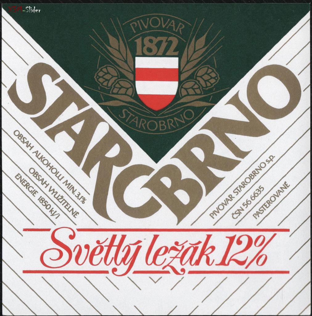 Starobrno - Svetly lezak 12%