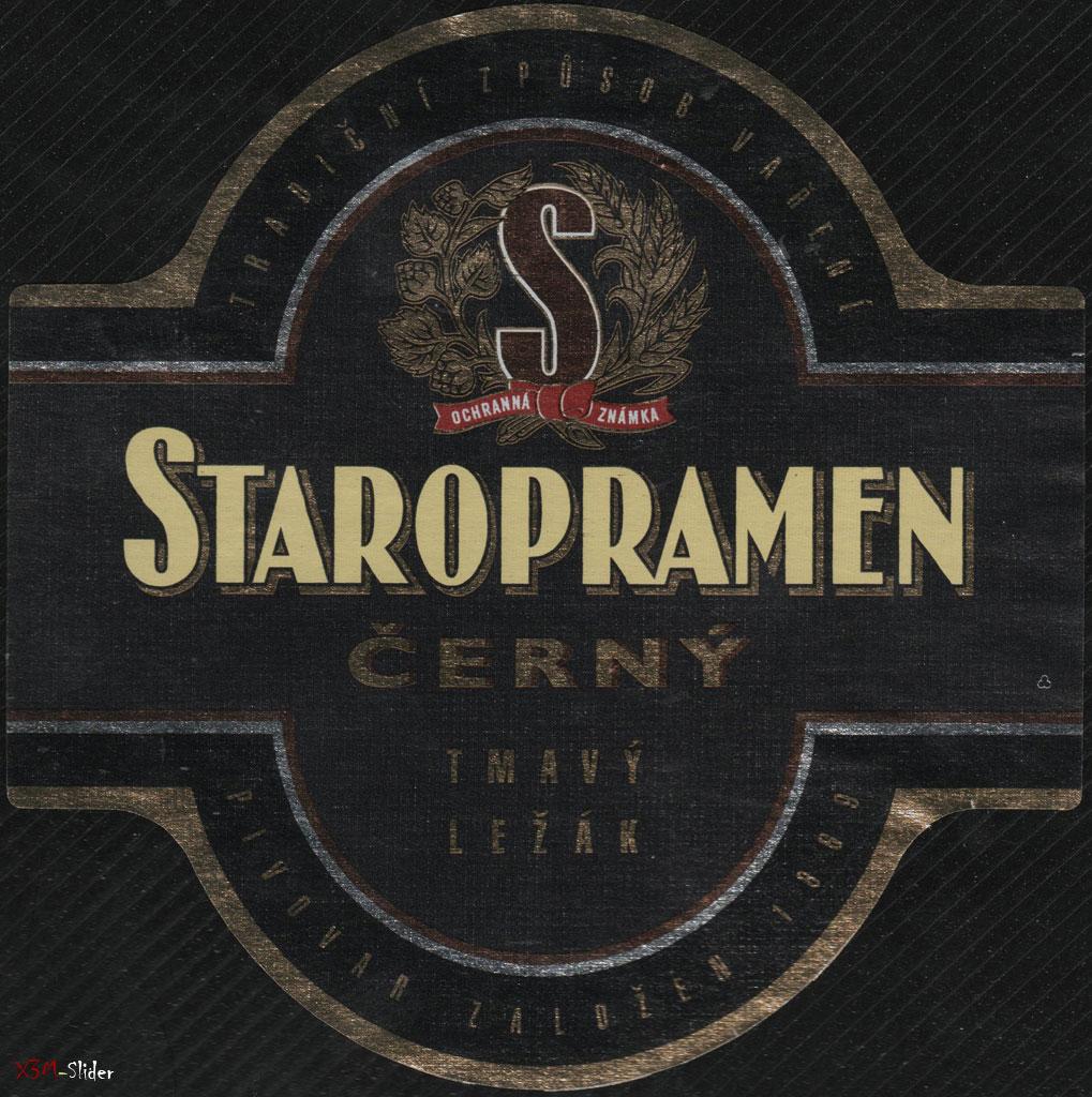 Staropramen - Cerny - Tmavy Lezak