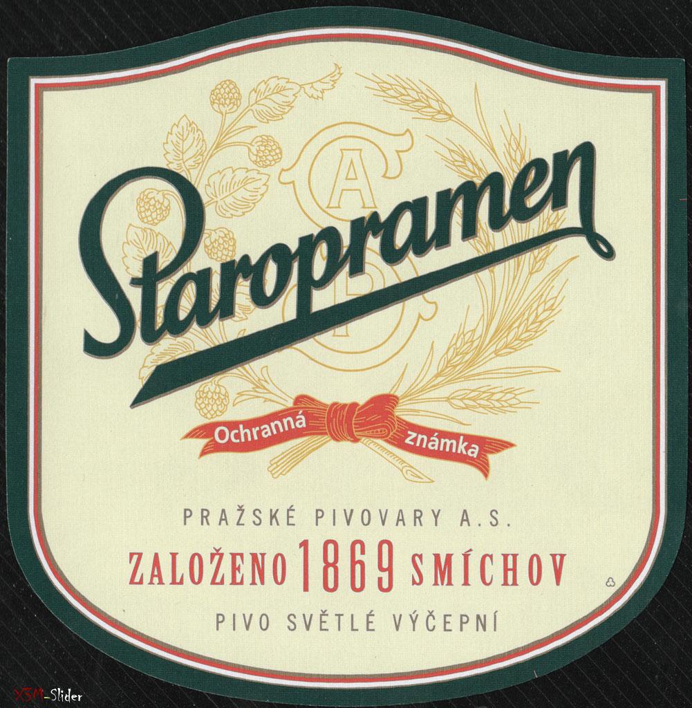 Staropramen - Ochranna Zamka - Pivo Svetle Vycepni