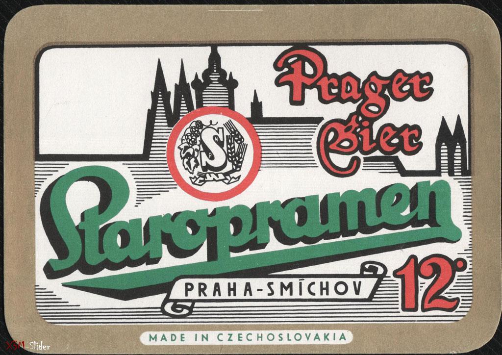 Staropramen - Praha-Smicho 12% - Prager Bier