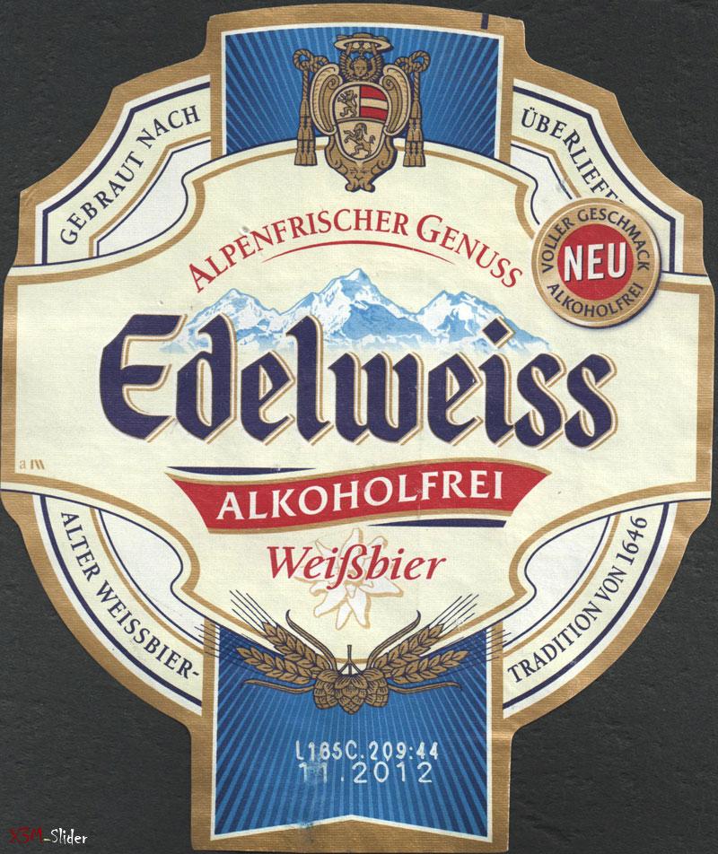 Edelweiss - Alkoholfrei - Weifsbier