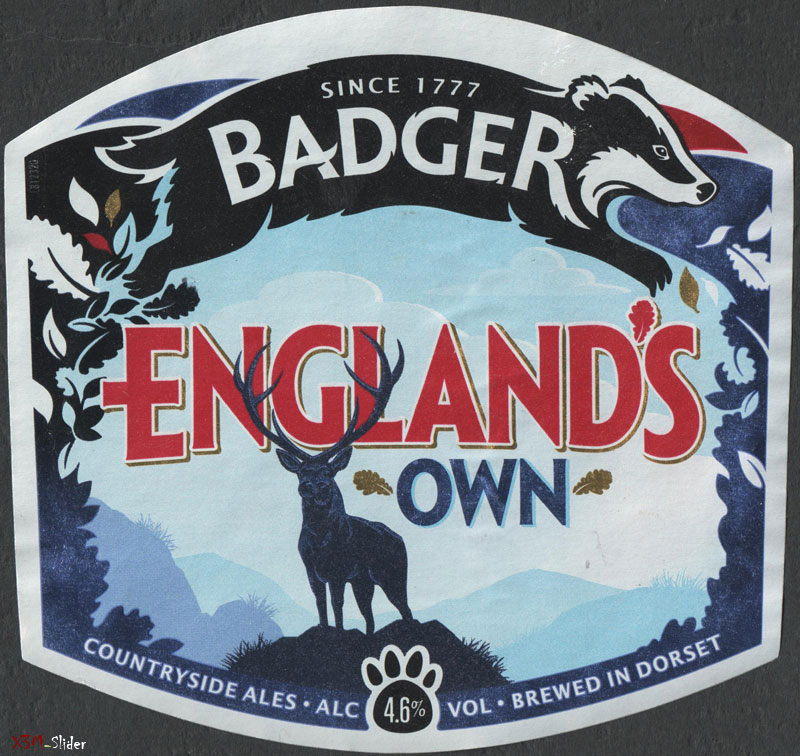Badger England's Own - Brewed in Dorset