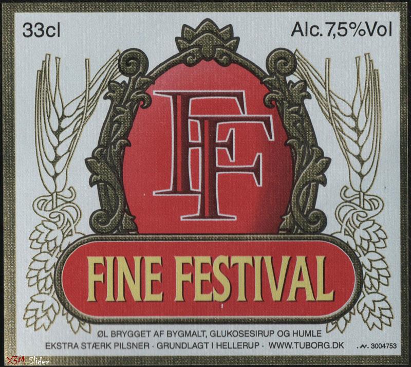 FF - Fine Festival - Tuborgs Bryggerier A/S
