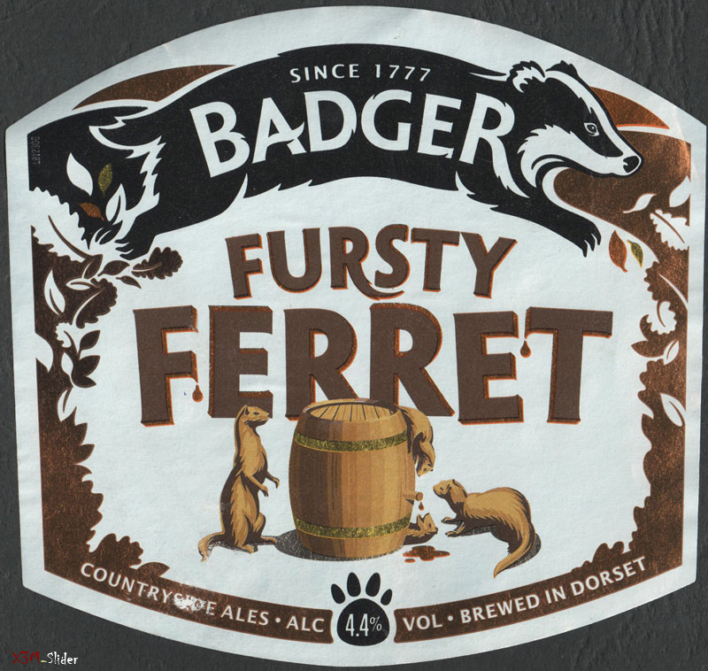Fursty Ferret - Badger